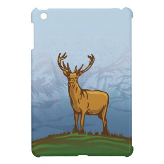Highland stag cover for the iPad mini
