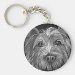 Highland Terrier Keychain