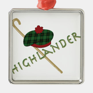 Highlander Christmas Ornament