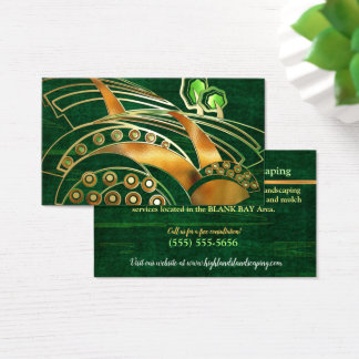 Highlands 2 Celtic LANDSCAPING TREE SERVICE Business Card