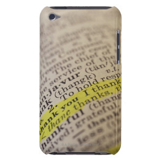 Highlighted dictionary entry barely there iPod covers