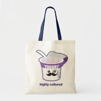 Highly Cultured Budget Tote Bag