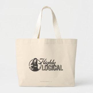 Highly Logical Jumbo Tote Bag