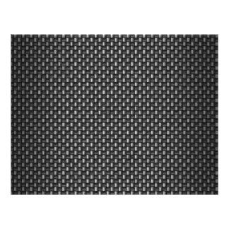 Highly Realistic Carbon Fiber Textured Flyer Design