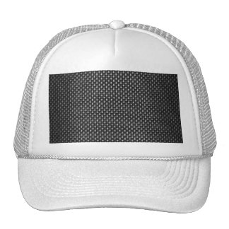 Highly Realistic Carbon Fiber Textured Mesh Hats