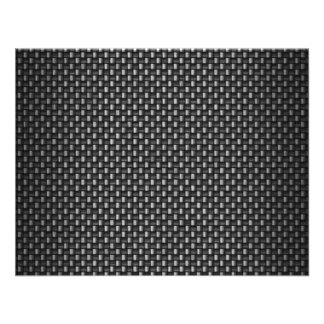 Highly Realistic Carbon Fiber Textured Custom Invitation