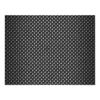 Highly Realistic Carbon Fiber Textured 4.25x5.5 Paper Invitation Card