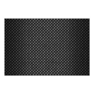 Highly Realistic Carbon Fiber Textured Posters