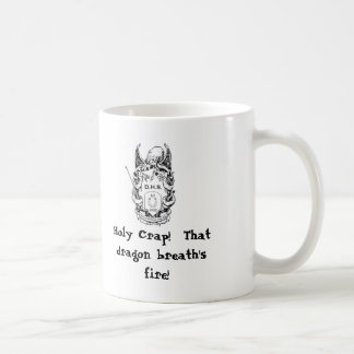 highres_6541463, Holy Crap!  That dragon breath... Basic White Mug