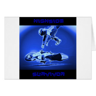 Highside Survivor Blue Greeting Card