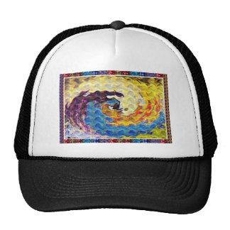 Hightide Waves Hurricane Season Cute Pretty Gifts Trucker Hats