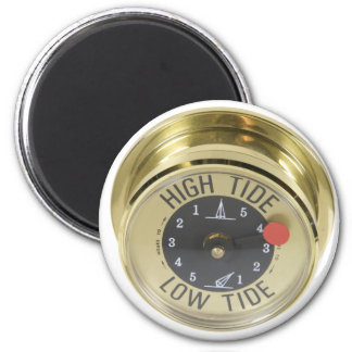 HighTideMeter120709 copy 6 Cm Round Magnet