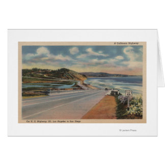 Highway 101 on the Coast of California ViewState Card
