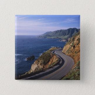 Highway 1 along the California Coast near 15 Cm Square Badge