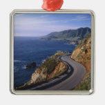 Highway 1 along the California Coast near Ornaments
