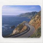 Highway 1 along the California Coast near Mouse Pad