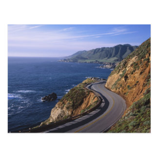 Highway 1 along the California Coast near Postcard