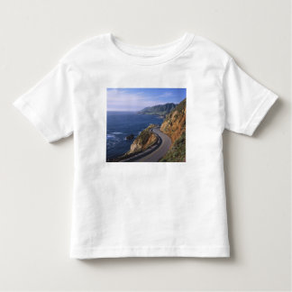 Highway 1 along the California Coast near Toddler T-Shirt