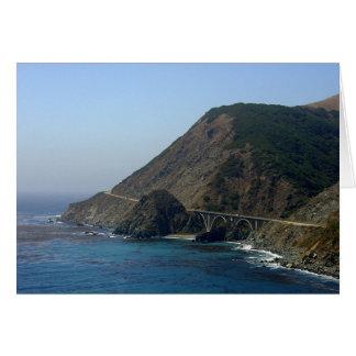 Highway 1 California Greeting Card