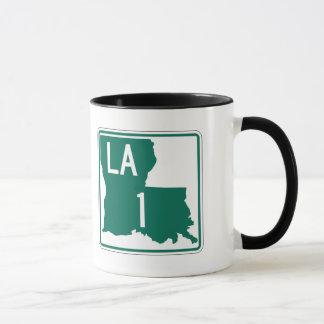 Highway 1, Louisiana, USA Mug
