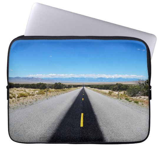 "Highway 50 ""The Loneliest Road"" Laptop Sleeve"