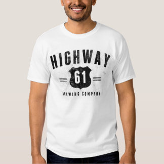 Highway 61 Brewing  - White Tee