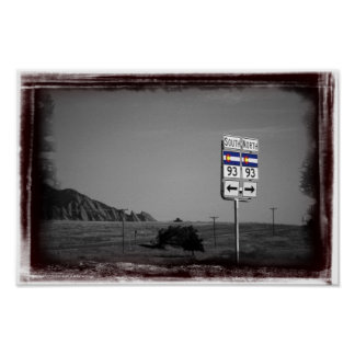 Highway 93 poster