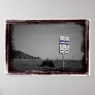 Highway 93 print