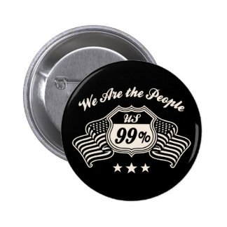 Highway 99% -bw 6 cm round badge