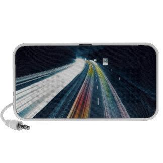 Highway At Night iPhone Speaker