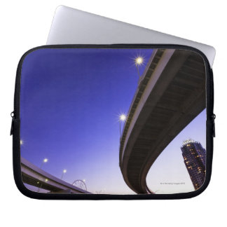Highway at Night Laptop Sleeve