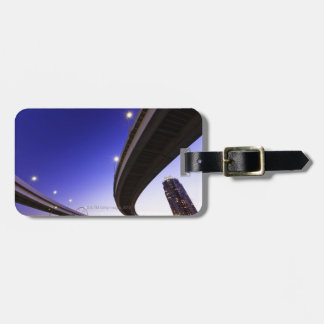 Highway at Night Luggage Tag