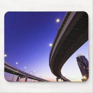 Highway at Night Mouse Pad