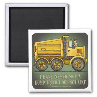 Highway Dump Truck Operator Quote Magnet