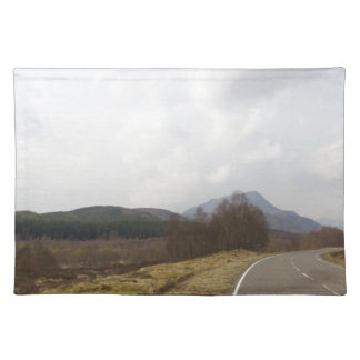 Highway in Scottish Highlands Placemats