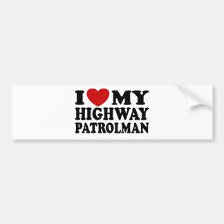 Highway Patrolman Bumper Stickers