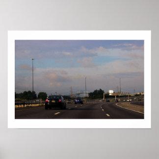 Highway Photo Poster