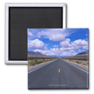 Highway Through Death Valley California Magnets