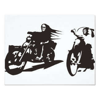 Highway to Hell 11 Cm X 14 Cm Invitation Card