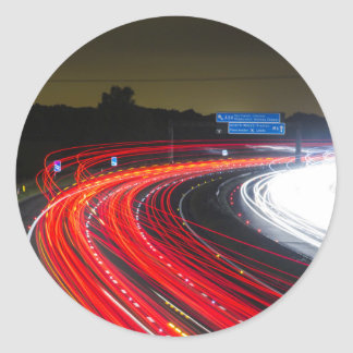 Highway traffic lights stickers