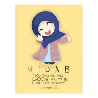 Hijab is Freedom Postcard