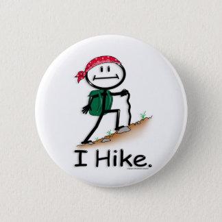 Hike 6 Cm Round Badge