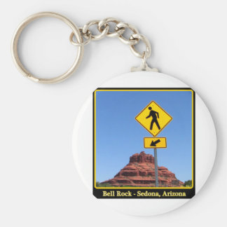 Hike Bell Rock Basic Round Button Key Ring