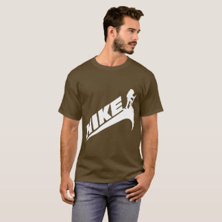 """HIKE"" Brown T-Shirt"