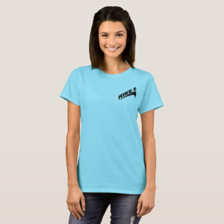 """Hike""/""Girls on Trails not scales"" Women's Tshirt"