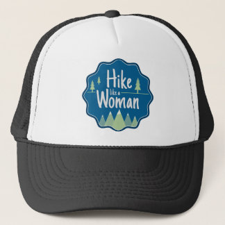 Hike Like A Woman hat