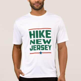 Hike New Jersey (Star) - Wicking T-Shirt