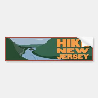Hike New Jersey - Sticker