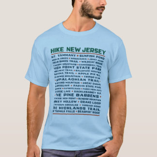 Hike New Jersey - Trails T-Shirt