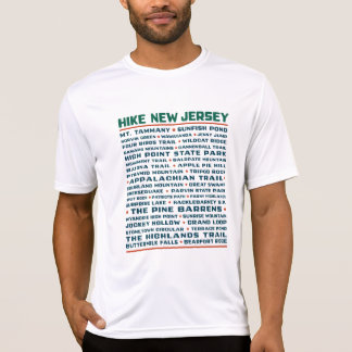 Hike New Jersey (Trails) - Wicking T-Shirt